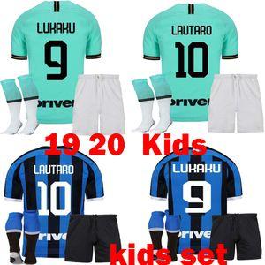 2019 2020 يدفن المنزل بعيدا عدة أطفال لكرة القدم بالقميص 19 20 ALEXIS lukaku ريكاردي وتارو SKRINIAR قمصان كرة القدم MAGLIA دا كالتشيو