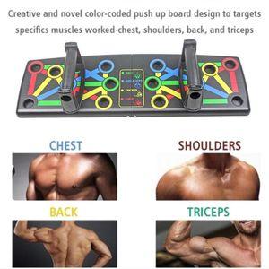 9 En 1 sistema Cuerpo edificio fitness pushup barras Soportes par push up Junta Cuerpo entrenamiento ABS entrenamiento deporte entrenador