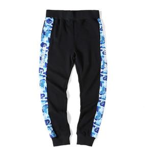 Erkekler Sonbahar / Kış Pamuk Erkekler Pencili Pantolon Açık Kamuflaj Tam Boy Pantolon Sokak Modası Günlük Pantolon