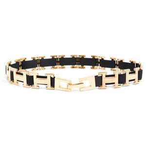 Cintura Donne modo delle signore oro fibbia in metallo Elastic Silm cinturino femminile cintura per accessori pannello esterno dei vestiti