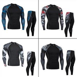 Erkek Spor İç Giyim Trainning Egzersiz Sıkıştırma Giyim Koşu Eşofman Bisiklet İç Gömlek Bisiklet külot ayarlar
