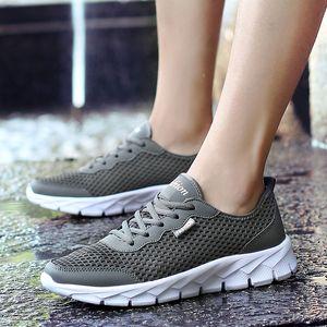 PUAMSS 2020 aguamarina zapatos de los hombres al aire libre zapatos para caminar al aire libre respirable zapatillas de deporte para hombre de trekking Trail Hombres Agua del tamaño grande