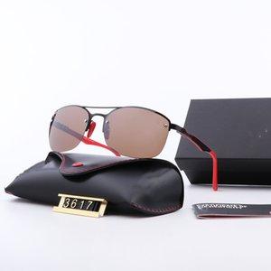 Marke Frauen Sonnenbrille Vintage-Designer-Flieger Sun-Glas-Band wayfarers Männer Frauen Ben Sonnenbrillen 3617