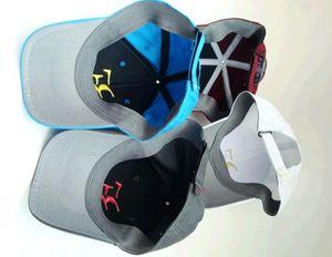 Wholesale- Autumn 2018 NEWest 100% Cotton New Spring and autumn Sports Cap Snapback Women and men Baseball Cap Roger Federer RF Hybrid Hat