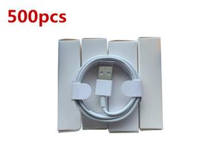 500pcs 7 Generazioni Original OEM Qualità OEM 1M / 3FT Cavo di sincronizzatore per sincronizzare dati USB con scatola al dettaglio nuova scatola