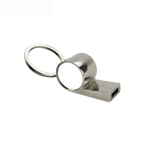 new arrival sublimation blank metal whistle key ring hot transfer printing custom keychains consumables materials