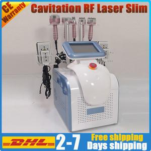 New diode cavitation professionnel rf lipo enlèvement réduction de la graisse du système resserrement de la peau minceur laser cellulite machine à ultrasons à vide rf