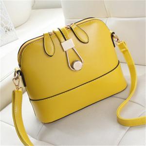 New Women Cross Body Single Shoulder Bag Crossbody Shell Bags Purses Ladies Fashion Messenger Mini Bag Handbags 3 colors