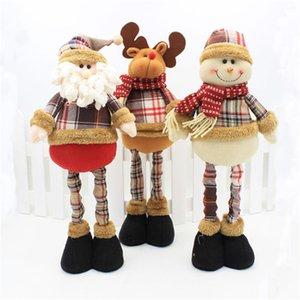 Ornements De Noël Enfeite De Natal Joyeux Noël Père Noël Bonhomme De Neige Elk Ornements Poupée Décor Festival Fête De Noël Décoration