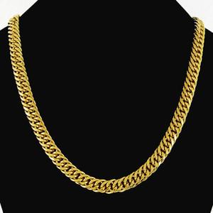 Designer Necklace 1PCS Cuban Link Chain Gold Chain Designer Necklace Hip Hop Bling Chains Jewelry Men Luxury Designer Jewelry Women Necklace