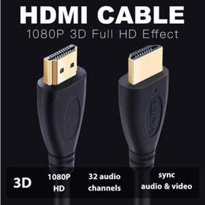 1.4 Version HDMI Cable High Speed Gold Plated Plug Male-Male HDMI Cable 0.5m 1m 1.5m 2m 3m 5m HDMI Cord 1080P 3D for HD TV XBOX PS3 Computer