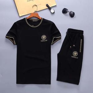 2020 hombres de los chándales Sudaderas Trajes de lujo Deportes juego de los hombres sudaderas chaquetas de la capa de deporte para hombre de la camiseta de la medusa chándal conjuntos de chaqueta