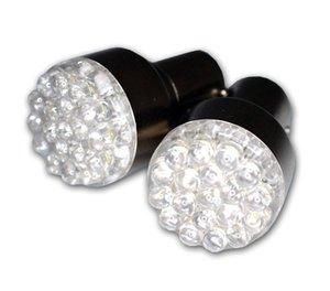 Brake Turn Signal Light 3157 4157 3156 1157 1156 Ba15s G18 White Red Round 19 Led Fog Bulb 12v Front Turn Signal Light