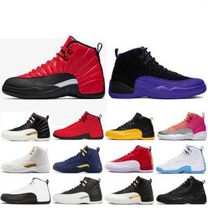 2020 Shoes New 12 12s Homens tênis de basquete FIBA Colégio Marinha Doernbecher escuro Concord jogo real Mens Sports Sneakers Trainers tamanho 7-13