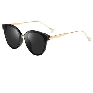 High quality children's fashion sunglasses boys girls children sunglasses polarized UV400 safety children's pearl gold frame sunglasses