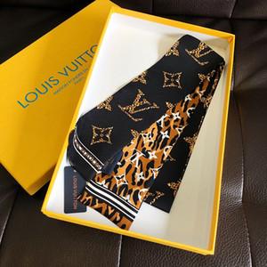 2020 nuevo pequeño bolso diademas mujeres bufandas de seda bolsa de seda bufanda impresión mujeres clásico seda FashionLVScarf venta al por mayor