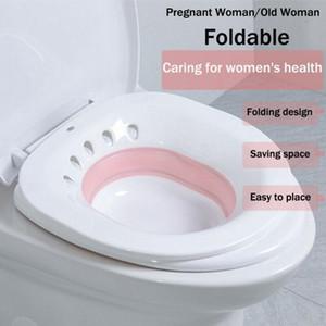 Складные Туалет Сидячая ванна Замачивание бассейна для беременных женщин Геморрой пациента Туалетная родильного геморроя