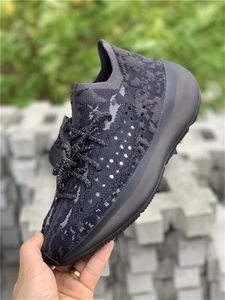 2019 Originals 380 Чужеродной Alein Белого Черного Fb6878 Fb7876 кроссовок Мужчины Женщина Wave Runner Kanye West Аутентичные кроссовки с коробкой