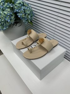 D Austrian rose slippers sandals upper calfskin leather outsole superb craftsmanship completed yardage 34-42 (34.40.41.42 customized non-ref