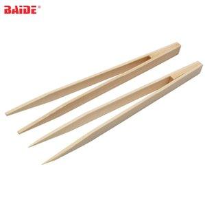 15cm antiestático libre de polvo de bambú cuspidales Pincette recta Herramienta Electrónica cabeza pinzas de la pinza para el teléfono Repairment 1000pcs / lot