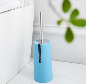 Cepillo de dientes y titular de ajuste de acero inoxidable Toilet Bowl Cleaner Cepillo para Baño Pulido