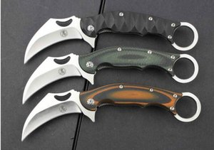 Ninja Allah'ın pençe bıçak 8Cr13Mov G10 karambit pençe Açık Av Bıçağı Kamp Survival Bıçak Adnb