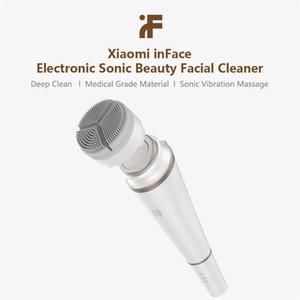 Youpin inface Elektronische Schallreinigungsmittel Beauty Gesicht Instrument Tiefenreinigung Gesichtshautpflege Massage für saubere Öl-Mädchen am besten Geschenk 3001621