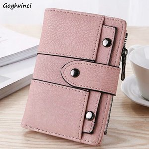 Wallets Women Hasp Colorful Kawaii Girls Simple Clutch Wallet Womens Purse Korean Style Carteira Short PU Leather Fashion New