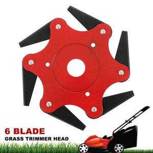 6 Blades Brush Cutter Lawn Mower Grass Trimmer Head Brush 65Mn Blades Head Cutter Parts Garden Power Tool Accessories