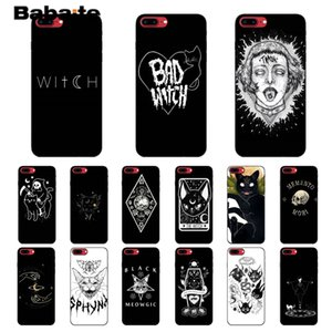 Babaite Witch and cat Customer High Quality Phone Case for Apple iPhone 11 pro max 7 6 6S Plus X XS MAX 5 5S SE XR Cover