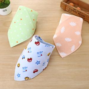 Baberos para bebés de algodón Pañuelo Alimentación Brup de tela para bebés recién nacidos toalla de la saliva de la bufanda niño niños Niños bebés Cuidado cosas de niña babero