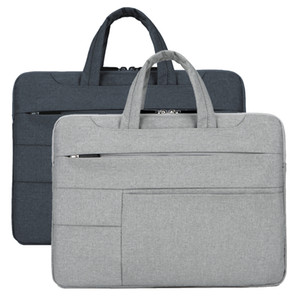 14-15 pollici Mens Laptop Tote portatile Moda Solid Oxford tessuto impermeabile borsa universale Carry Laptop Case Bag Borse