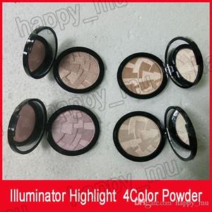 Марка осветитель Макияж Miner Foundation Powder Maquillaje 4color Face Bronzer Выделите контур Установка Порошковая DHL свободный