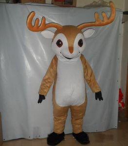 2019 fábrica quente Fazer EVA Material Capacete elk Mascot Costume Cartoon Apparel Halloween Aniversário
