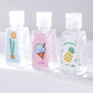 30ml sin limpieza desinfectante de la mano del gel de exterior portátil, lindo bacterias Mini desinfectante de la mano Anti Desinfección bebé de los niños de la mano del gel DBC BH3201