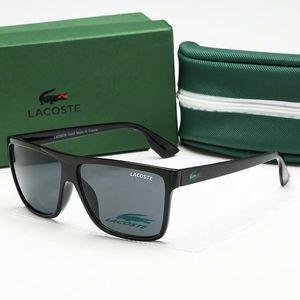 Luxury designer Sunglasses For Men Fashion Designer Sun Glass Oval Frame Coating Mirror UV Lens Carbon Fiber Legs Summer Style Eyewear 8313