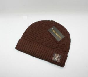 Wholesale-2018 Herbst Winter Hüte Für Frauen Männer Marke Designer Mode Mützen Skullies Chapeu Caps Baumwolle Gorros Touca De Inverno Macka 943