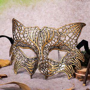 Девушка женщина сексуального мяча кружева маски кошка женщина маскарад партия маска для глаз кошки Хэллоуин костюм мяч костюм