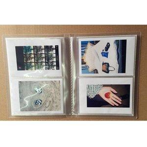 20pcs / set 7inch feuilles Timbres Insérer des pages Clear Storage Album photo de poche Protector mémoire pour la famille Organisateur bricolage