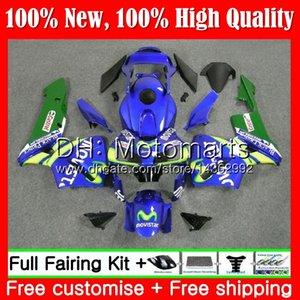 Kit d'injection + réservoir pour HONDA CBR 600RR CBR600 RR 2003 2004 58MT0 Bleu CBR600RR CBR600 RR 600R5 CBR600 F5 03 04 Carrosserie
