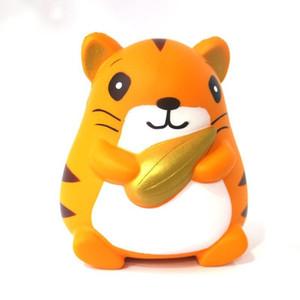 Bonito Hamster Squishy Lenta Rebound Descompressão Brinquedos Squishies Animal Forma Squeeze Toy Crianças Presentes Venda Quente