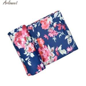 Enfant fille Bébés garçons Swaddle Blanket Nouveau-né bébé Floral Swaddle Receiving Blanket infantile Wrap 4ème Avril #