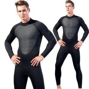 Traje de buceo nuevo traje de neopreno para hombre traje de baño de manga larga protector solar traje de baño de una pieza de secado rápido traje de baño hombres