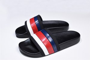 Gear terlik 2020 yeni Tasarımcı çevirme terlik flop erkek Kaymaz yaz terlik nedensel çizgili sandaletler slayt fondip