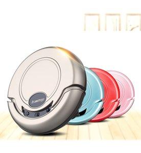 Diseñador de la marca Robots de barrido Aspiradora automática para el hogar Máquinas inteligentes de limpieza de pisos 4 en 1 Oro Azul Rosa Color
