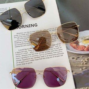 New d home lunettes de soleil polarisantes dames tendance boîte de célébrités en ligne transparent rose anti-UV lunettes de soleil de conduite homme