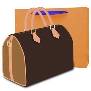 Vendita calda Borse Borse Moda Donna Borse da viaggio in pelle Zipper della borsa Accessori Donna Tote Bags 30cm 44602