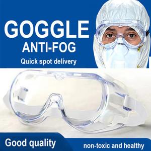Protettivi Occhiali sicurezza sul lavoro antipolvere Eye Anti-Fog Anti Sand antivento Anti polvere saliva occhiali di protezione morbida Goggles
