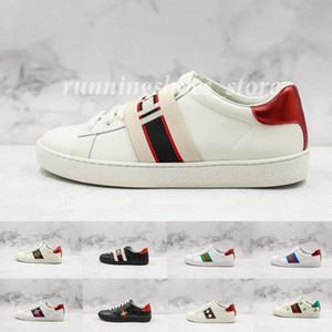 Высочайшее качество Ace Sneakers Bee Мужские дизайнерские туфли для мужчин Женские кроссовки Модные парижские спортивные кожаные кроссовки кроссовки Chaussures