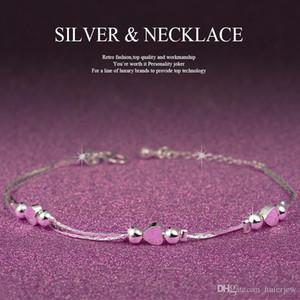 Bracelets Bracelets Mode 925 Bijoux Sliver Coeur Bracelets à breloques Bijoux à la mode Bracelets